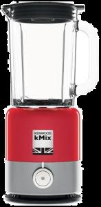 Blender Kenwood Kmix BLX750RD, 800W, 1.6L, Viteze variabile, Functie spart gheata, lame MultiZone, Rosu