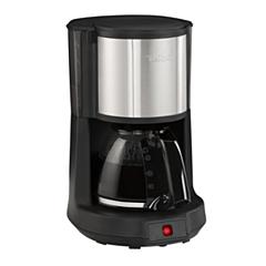 Cafetiera CM370811 Tefal, Capacitate de 15 cesti, 1.25L, Pastrare la cald de 30 min, Functie de oprire automata, Filtru cu suport rotativ, Negru/Argintiu