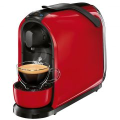 Espressor Cafissimo Pure Red 326531 Tchibo, Capsule, 15 bari, 1Litru, Rosu