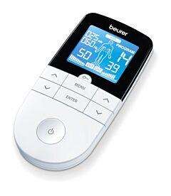 Aparat electrostimulare EMS/TENS digital EM49 Beurer, 4 electrozi