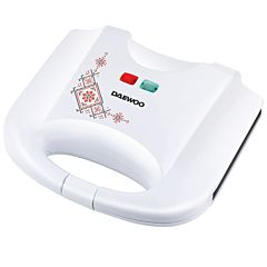 Sandwich maker DSM25TR Daewoo, 800 W, design traditional, Alb