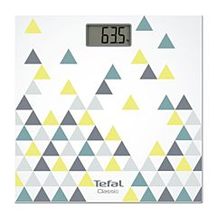 Cantar corporal Tefal Decor PP1145V0, 160kg, LCD, Multicolor