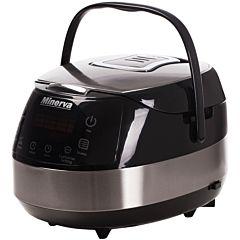Multicooker Minerva Experience M49, 860 W, 5 L, 49 programe, Negru