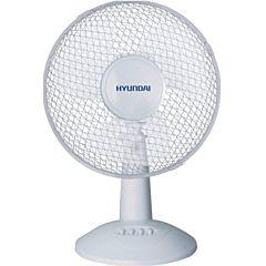 Ventilator de birou Hyundai HYFT12A, 40W, 2 viteze, Alb