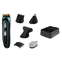 Aparat de tuns barba Rowenta Trim & Style TN9130F0, 3-7 mm, Wet&Dry, Negru
