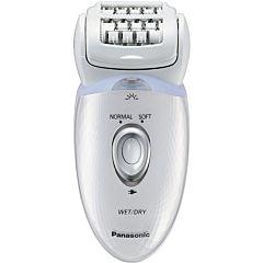 Epilator Panasonic ES-ED53-W503, Wet & Dry, Fara fir, 48 pensete, 4 accesorii, Alb