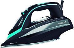 Fier de calcat Cecotec 3D ForceAnodized 750 Smart, 3100 W, Abur 200 g / min. Talpa dublu-anodizata