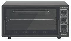Cuptor electric Hausberg H 8035, 48 Litri, 1400 W, Negru