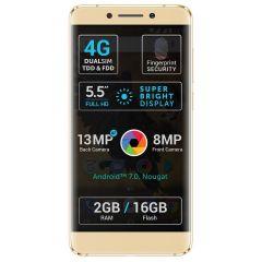 "Telefon mobil P8 Pro Allview, 16 GB, 13 megapixeli, 5.5"", Auriu"