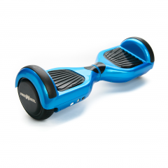 Hoverboard Junior Freewheel, motor 2 x 250 W brushless, viteza 12 km/h, autonomie 20 km, Albastru