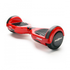 Hoverboard Junior Freewheel, motor 2 x 250 W brushless, viteza 12 km/h, autonomie 20 km, Rosu