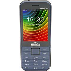 Telefon mobil T301 Freeman, Albastru, Dual Sim