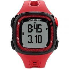 Smartwatch Forerunner 15 Garmin, Rosu/Negru