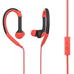 Casti In-ear PSINTSP1 RD Poss, 1.2m, microfon, jack 3.5mm, Rosu