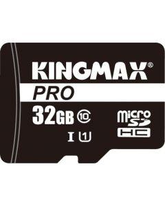 Card de memorie Kingmax microSD + Adaptor 32GB Clasa 10