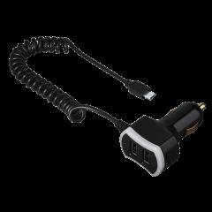 Incarcator auto Triple Power Hama, micro USB, 7.2 A