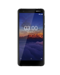 "Telefon mobil Nokia 3.1, 16 GB, 13 megapixeli, 5.2"", Black/Chrome"