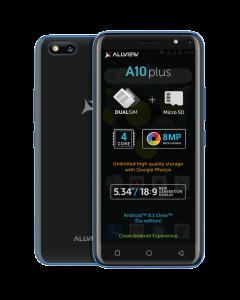 Telefon mobil A10 Plus Allview, 8 Megapixeli, 3000 mAh