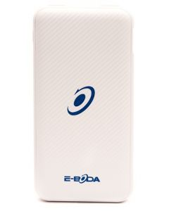 Power-bank CML QC 601 E-boda, 8000 mAh, tip C, incarcare rapida, Alb