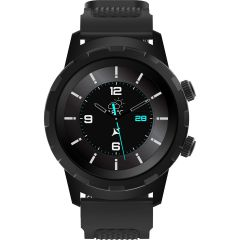 Ceas smartwatch Allview Hybrid T, Unisex, Digital, Notificari, Ritm Cardiac, Negru