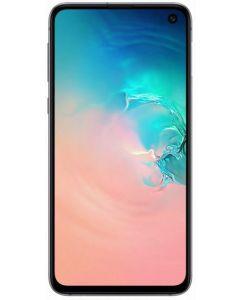 Telefon mobil S10E Samsung, 128 GB, Dynamic AMOLED, Full HD+ Flat, Camera duala cu Dual OIS, Alb