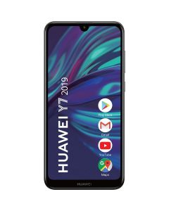 Telefon mobil Y7 2019 Huawei, Dual Sim, 6.2 Inch, Snapdragon 450, 3 GB RAM, 32 GB, Android Oreo, Negru