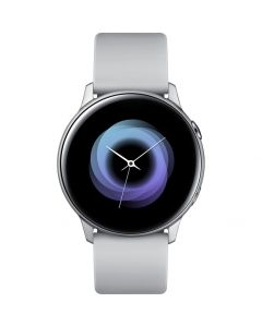 Smartwatch Galaxy Active Samsung, Super AMOLED, Procesor Dual-Core, Argintiu