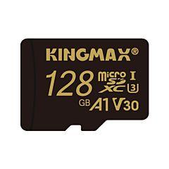 Card de memorie Kingmax microSDXC 128GB, A1 V30, Class 10UHS-1