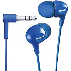 Casti In-Ear SHE3555BL/00 Philips, Microfon, Jack 3.5mm, Cablu 1.2m, Albastru