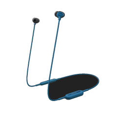 Casca in-ear bluetooth NJ310 Panasonic, Albastru