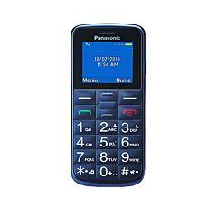 Telefon mobil KX-TU110EXV Panasonic, 2G, DualSIM, 32MB Memorie interna, Albastru