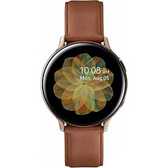 """Ceas Smartwatch Galaxy Watch Active 2 Samsung, 44 mm, Wi-Fi, 1.4"""", Super Amoled, Stainless Steel Gold"""