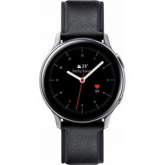 """Ceas Smartwatch Galaxy Watch Active 2 Samsung, 44 mm, Wi-Fi, 1.4"""", Super Amoled, Stainless Steel Silver"""