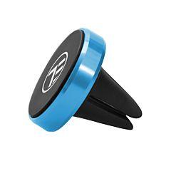 Suport magnetic de telefon pentru ventilatie Tellur MCM4, albastru