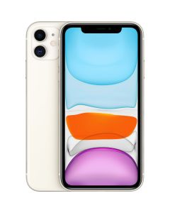iPhone 11 Apple, 128 GB, White