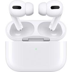 Casti MWP22ZM/A Apple AirPods Pro, True Wireless Bluetooth, In-Ear, Microfon, Noise Cancelling, Alb