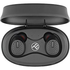 Casti Bluetooth Tellur Mood True Wireless, Bluetooth 5.0, negru