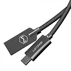Cablu micro USB Mcdodo Knight 1.5 metri, Negru