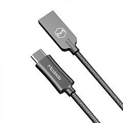 Cablu Knight Type-C Black 1.5m Mcdodo