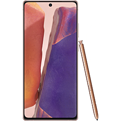 Telefon mobil Samsung Galaxy Note20, Dual SIM, 5G, 256 GB, 8 GB Ram, Mystic Bronze