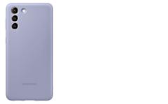 Cover Samsung S21+, Silicon, Violet