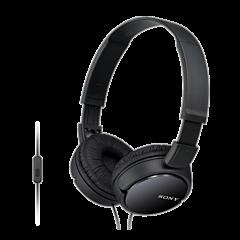 Casti audio Sony MDRZX110APB, Microfon, Negru