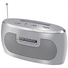 Radio 3 benzi BPR50 Bluesky, Am/Fm/Lw, Argintiu