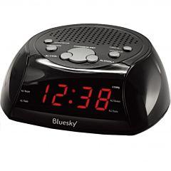 Radio ceas BCR30 Bluesky, Negru