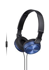 Casti audio Sony MDRZX310APL, Microfon, Albastru