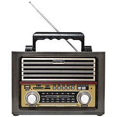 Radio cu MP3 Player Kemai RO1 FM/AM/SW3, Negru
