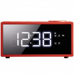 Radio ceas PSCR1801RD Poss, Fm, Rosu