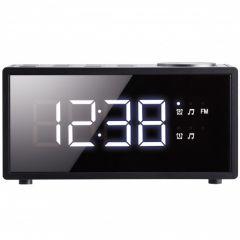 Radio ceas cu alarma 1801BK Poss, Negru