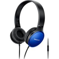 Casti Over-Ear HF300ME Panasonic, Microfon, Albastru