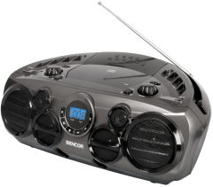 Radio CD SPT300 Sencor, USB, 2 x 5 W, AUX